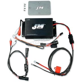 J&M Corporation Performance Series180w RMS 2-Channel Amp Kit - JMAA-1800HR15