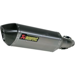 Akrapovic Stainless/Titanium/Carbon Slip-on Muffler - S-S6SO8-HZT