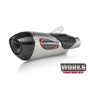 Yoshimura Works Finish Alpha T Stainless/Stainless/Carbon Fiber Exhaust System - 14360BJ520