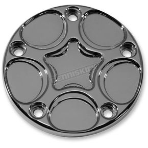 Carl Brouhard Designs Chrome Spiro Series 5 Hole Points Cover - SS-PT-C