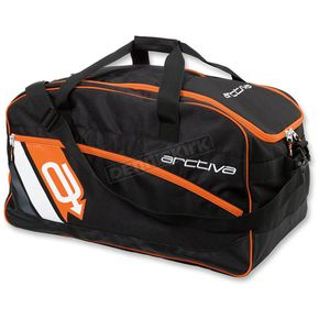 Arctiva Black/Orange Gear Bag - 3512-0207