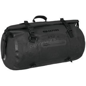 Black Aqua-T 20 Liter Weatherproof Roll Bag - OL450