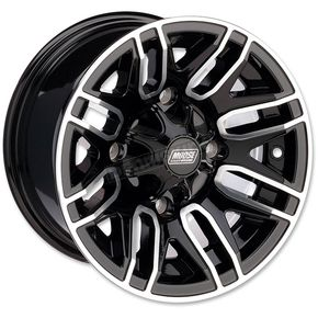 Front Gloss Black 112X 12x7 Wheel - 0230-0872