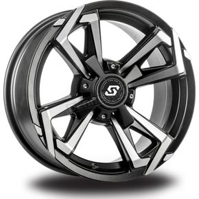 Sedona Front/Rear Riot 14x7 Wheel - 570-1258