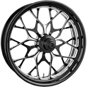 Performance Machine Front Platinum Cut 23 x 3.5  One-Piece Aluminum Wheel  - 12047306PGALBMP