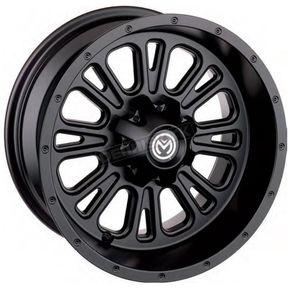 Black Rear 339X 14x8 Wheel - 0230-0924