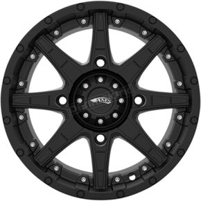 Black Roll'N 105 14x7 Cast Aluminum Wheel - 4750-046AS