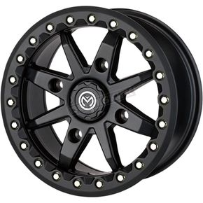 Black 544BL 14x7 Wheel - 0230-1092