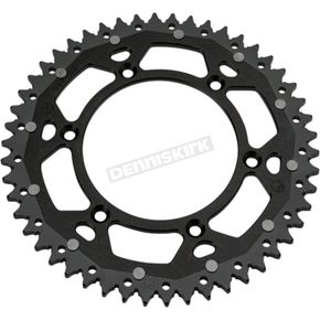 Moose 49 Tooth Black Dual Rear Sprocket - 1210-1463