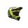 Blue/Yellow Factory Moto-9 Carbon Flex Helmet - 7073685