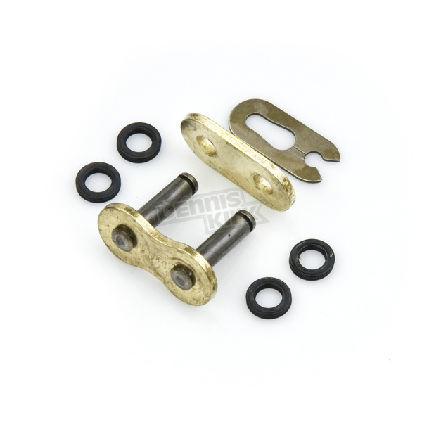 Factory Spec Gold 525 X-Ring Clip Connecting Link - FS-525X-GML
