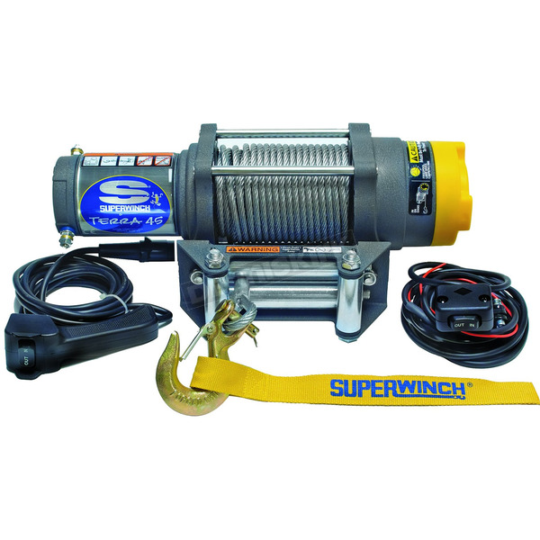 Superwinch Terra45 4500LB SXS Winch with Wire Rope - 1145220