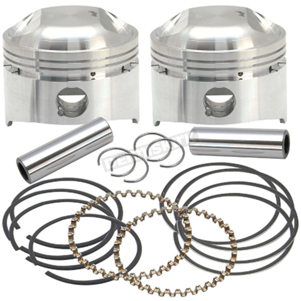 S&S Cycle Forged Low Compression Piston Kit (.010