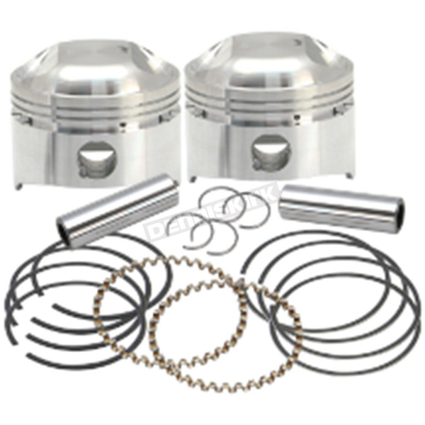 S&S Cycle Forged Low Compression Piston Kit (.020