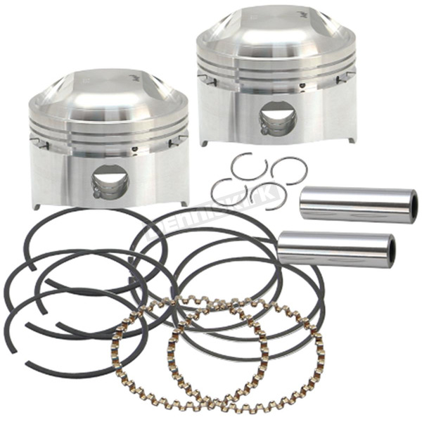 S&S Cycle Forged Low Compression Piston Kit (Std.) - 106-5511