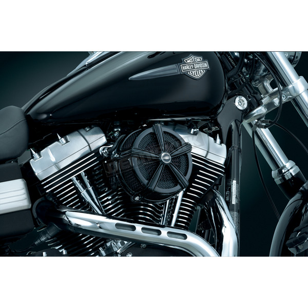 Kuryakyn Black Hi-Five Mach 2 Air Cleaner Kit - 9554
