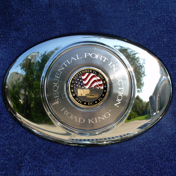 Motordog69 ACM 1.8  Air Cleaner Coin Mount With September 11th 2-Sided Coin - JMPC-ACM-SEPT11