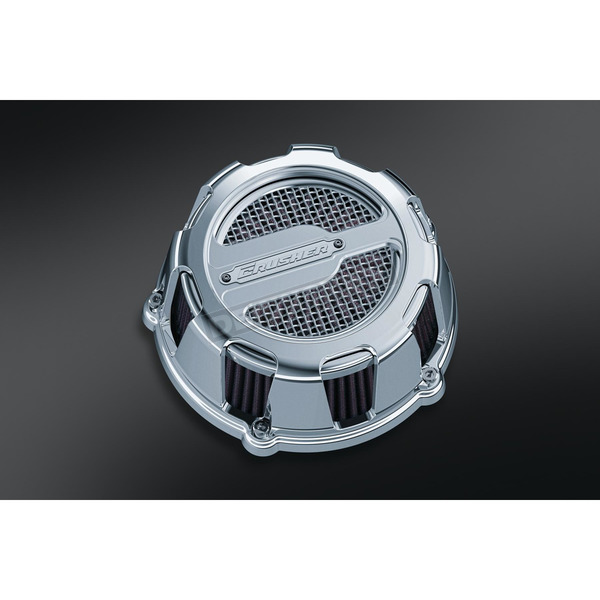 Crusher Chrome Maverick Air Cleaner - 9889