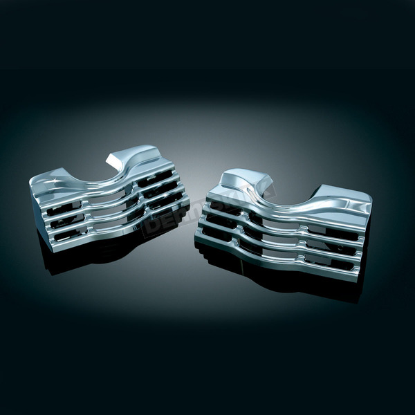 Chrome Spark Plug/Head Bolt Covers - 7260