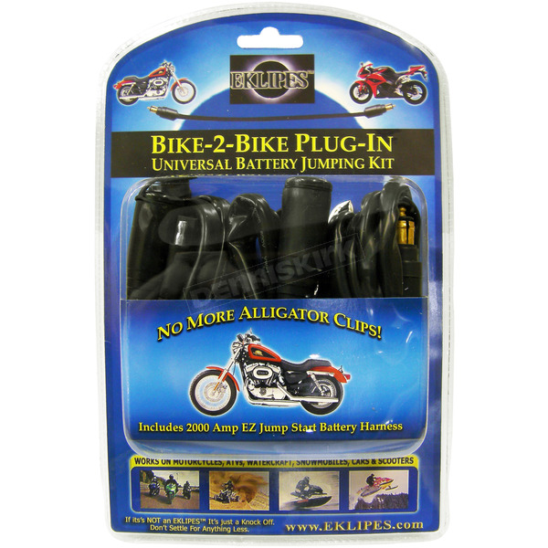 Eklipes Bike to-Bike Plug in Universal Jump Start Kit - 14246