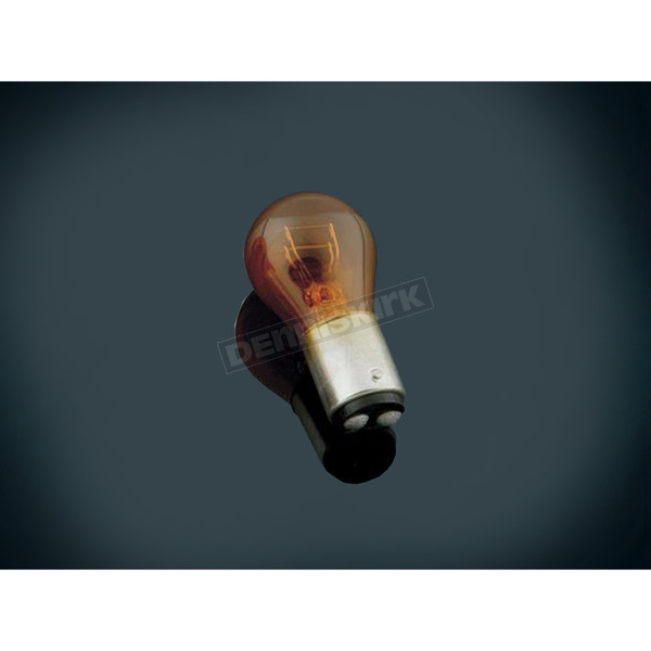 Kuryakyn Amber Dual Filament 1157 Style Replacement Turn Signal Bulb - 4813