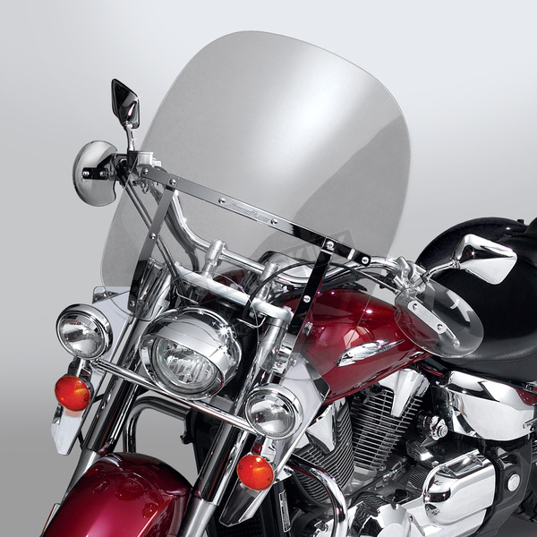 National Cycle 20 in. 2-Up Switchblade Windshield - N21111