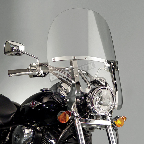 National Cycle 21 in. 2-Up Switchblade Windshield - N21113