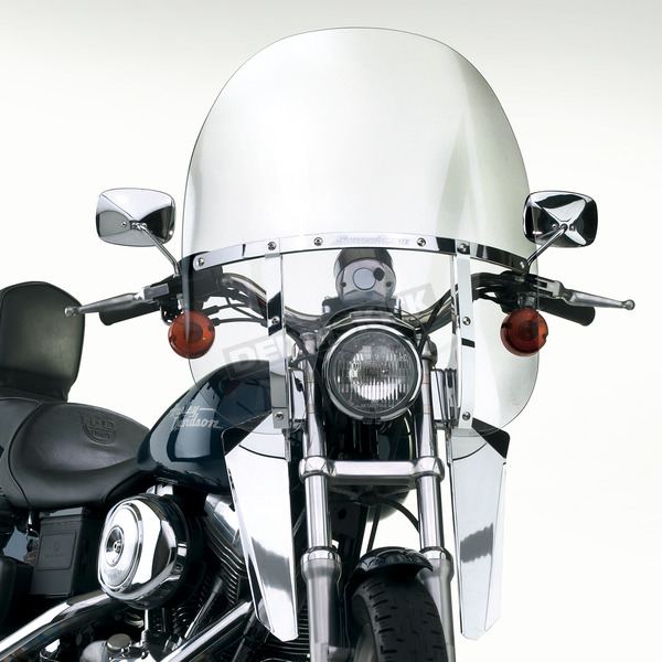National Cycle 18 1/2 in. 2-Up Switchblade Windshield - N21117