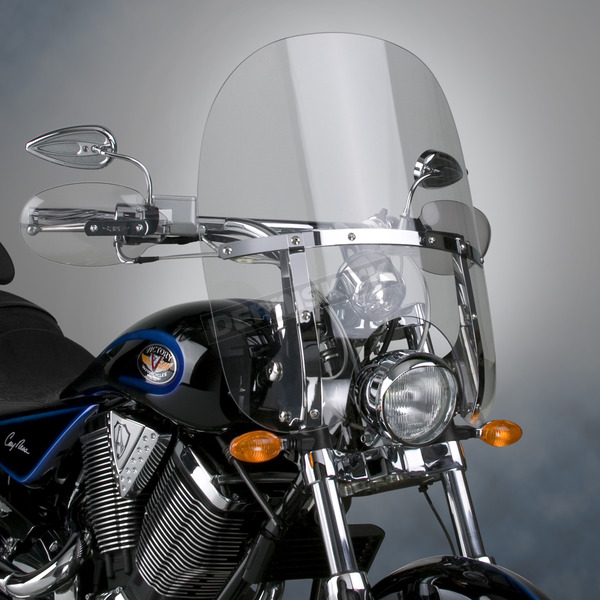 National Cycle 20 1/2 in. 2-Up Switchblade Windshield - N21125