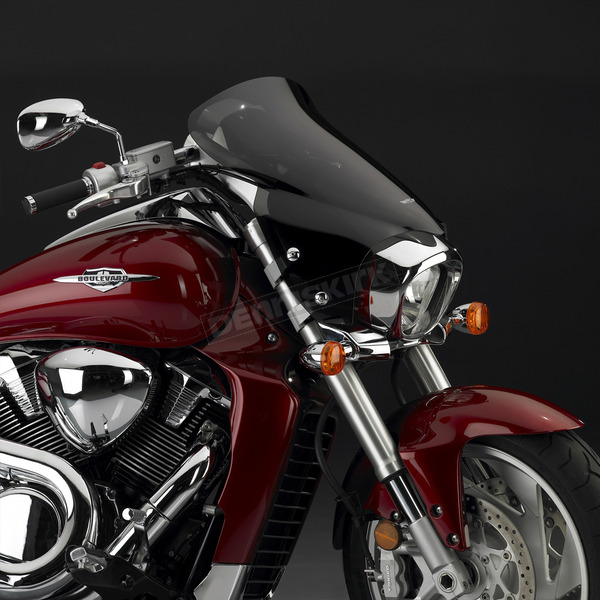 National Cycle 7 in. Dark Tint V-Stream Windshield - N28201