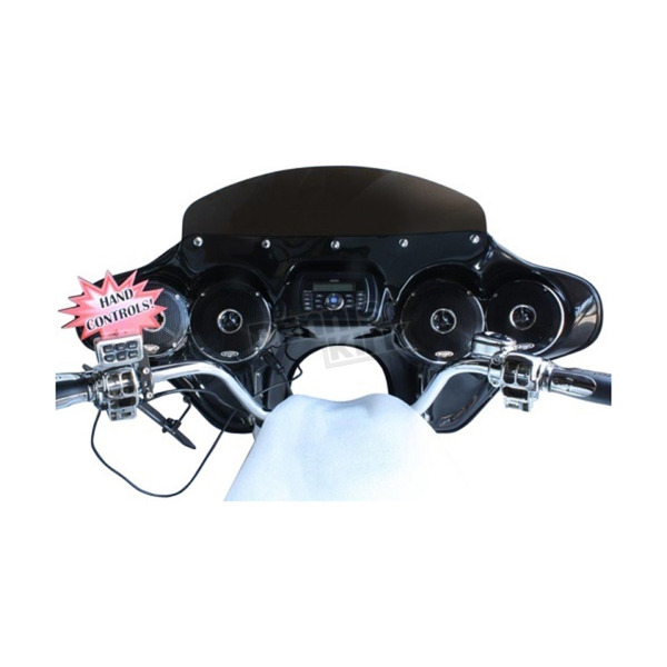 Hoppe Industries 5566 Fairing w/Stereo Receiver - HDF-5566-SFT-HC