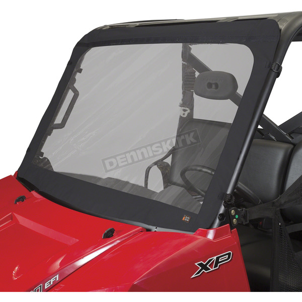 Classic Accessories Black Front Windshield - 18-098-010401-0