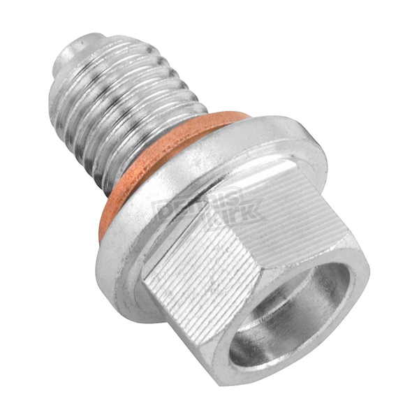 BikeMaster 12mm/1.5 Steel Magnetic Oil Drain Plug - FHM050-S12-1.5