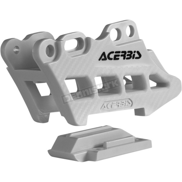 Acerbis White 2.0 Complete 2 Piece Chain Guide - 2410960002