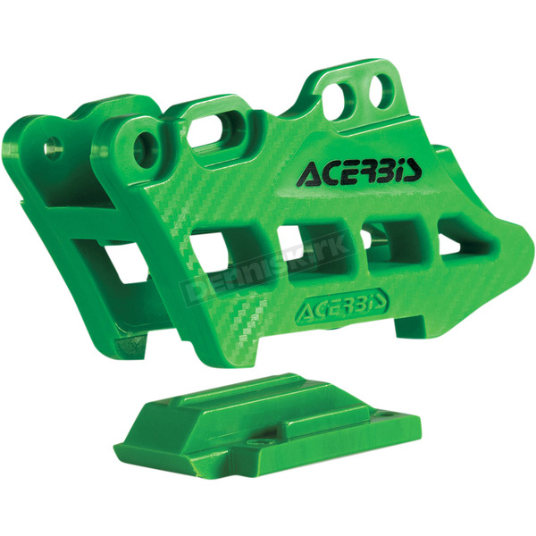 Acerbis Green 2.0 Complete 2 Piece Chain Guide - 2410970006