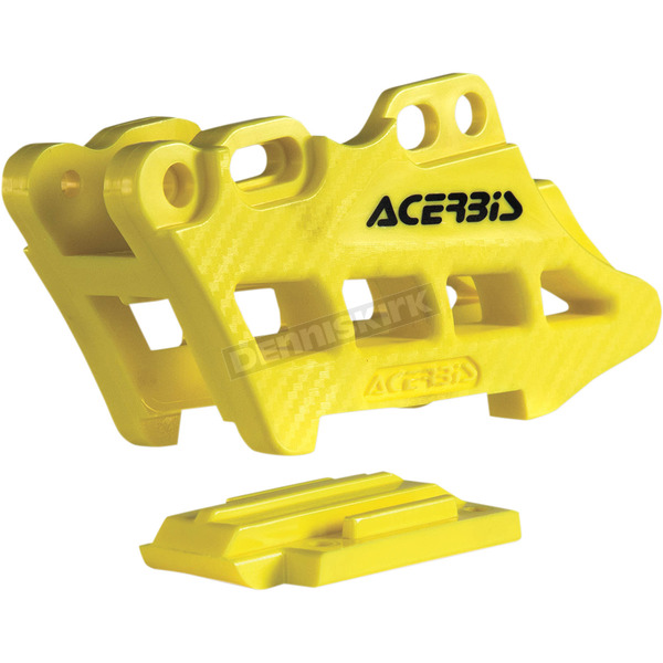 Acerbis Yellow 2.0 Complete 2 Piece Chain Guide - 2410980005