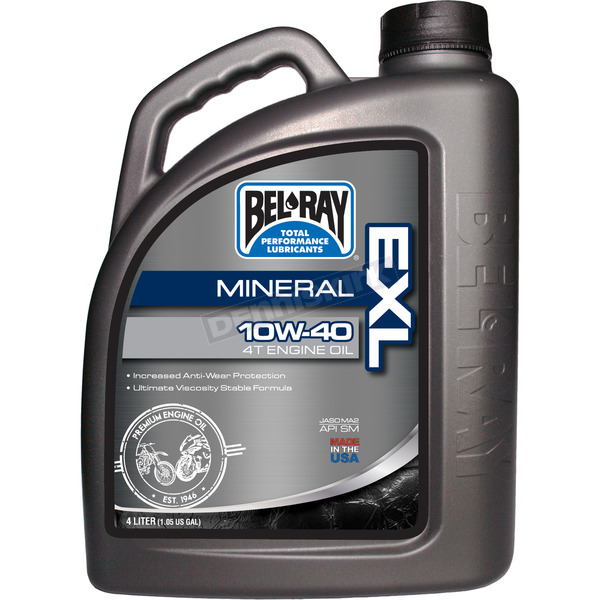 Bel-Ray EXL Mineral 4T Engine Oil - 99090-B4LW