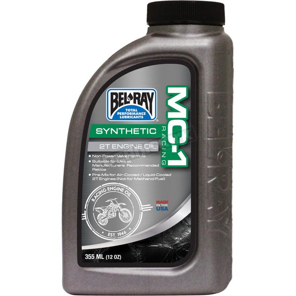 Bel-Ray MC-1 Racing Full-Synthetic 2T Engine Oil - 99400-B12.8