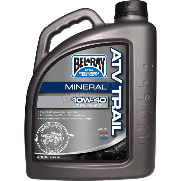 Bel-Ray ATV Trail Mineral 4T Engine Oil - 99050-B4LW
