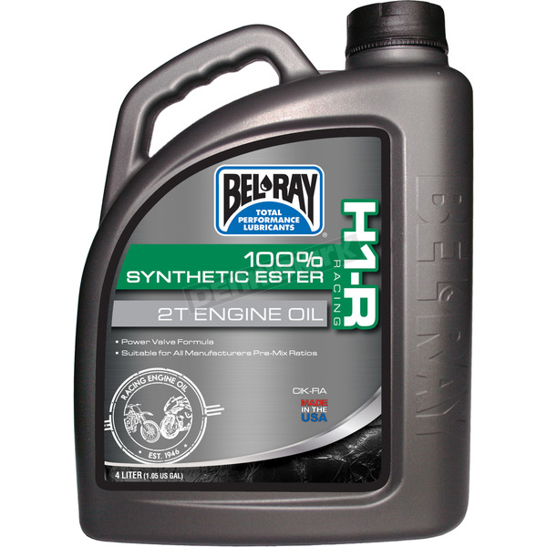 Bel-Ray H1-R Racing 100% Synthetic Ester 2T Engine Oil - 99280-B4LW
