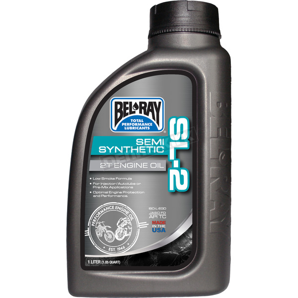 Bel-Ray SL-2 Semi-Synthetic 2T Engine Oil - 99460-B1LW