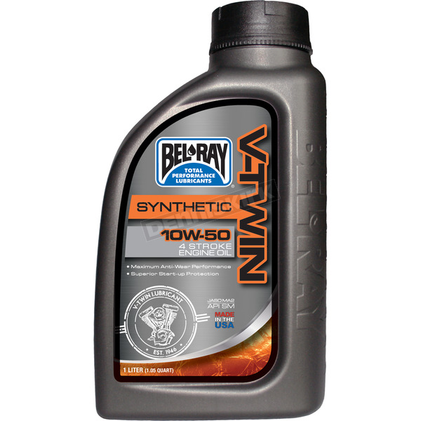 Bel-Ray 10W50 Synthetic Motor Oil  - 96915-BT1