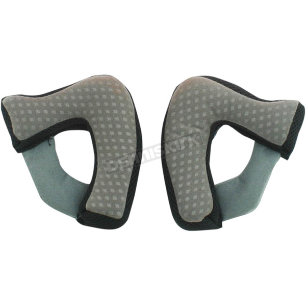 AFX Black Cheek Pads for FX-55 Helmets - 0134-1527