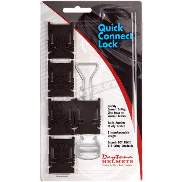 Daytona Quick Connect Lock w/Interchangeable Lock Bodies - QCL-12