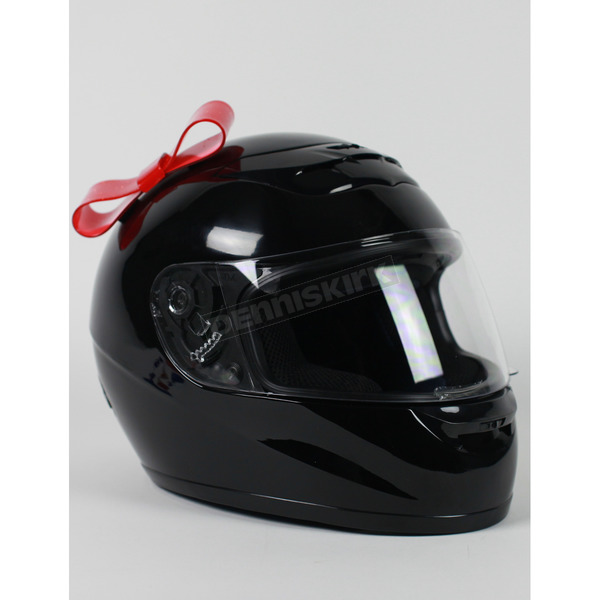 Helmets Inc Red Helmet Bow - BOWRED