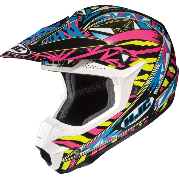 HJC Black/Yellow/Multi Fuze CL-X6 Helmet - 730-937