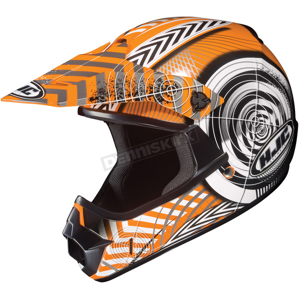 HJC Youth Orange/Black/White Wanted CL-XY Helmet - 274-964