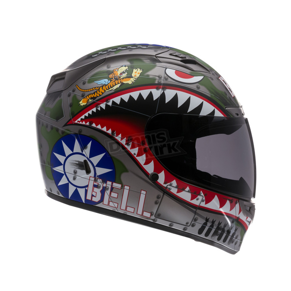 Bell Helmets Vortex Flying Tiger Helmet - Convertible To Snow - 2028546