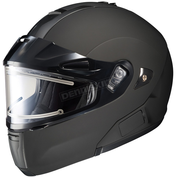 HJC Matte Black IS-MAX BTSN Helmet w/Electric Shield - 059-616