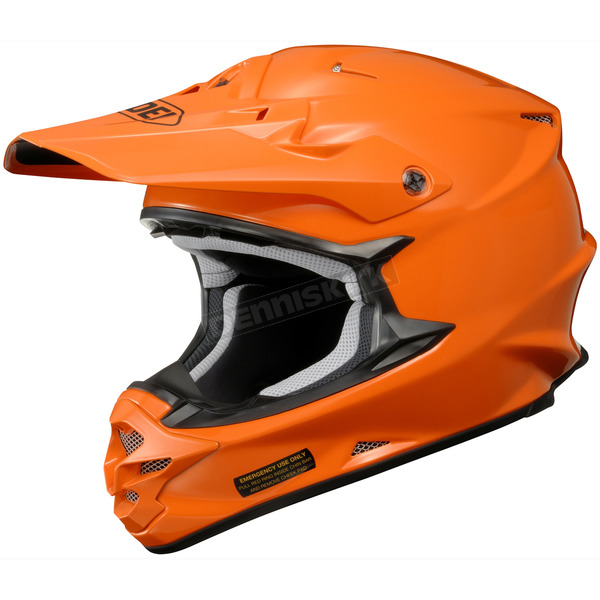 Shoei Helmets Pure Orange VFX-W Helmet - 0145-0106-05